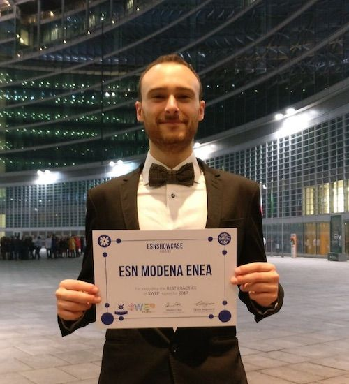 Riconoscimento per la vittoria allo showcase della piattaforma del Sud Ovest Europeo